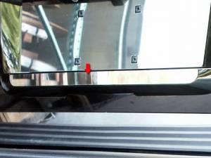 Chrome Trim - Tailgate Handle Cover - QAA - GMC Yukon 2007-2014, 4-door, SUV (1 piece Stainless Steel Tailgate Handle Accent Trim ) TGH47195 QAA