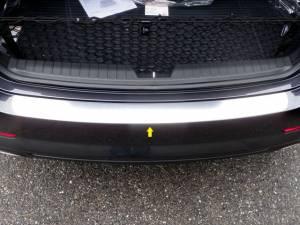 "Chrome Trim - Bumper Accents - QAA - Kia Optima 2011-2015, 4-door, Sedan (1 piece Stainless Steel Rear Bumper Trim Accent 1.25"" Width ) RB11805 QAA"