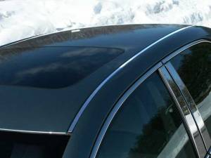 "Chrome Trim - Roof Accents - QAA - Toyota Camry 2007-2011, 4-door, Sedan (2 piece Stainless Steel Roof Insert Trim 0.563"" Width ) RI27130 QAA"