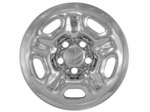 "Chrome Trim - Wheel Cover Hub Cap - QAA - Toyota Tacoma 2005-2015, 2-door, 4-door, Pickup Truck (4 piece Chrome Plated ABS plastic Wheel Cover 15"" Hub Cap ) HUB25174 QAA"