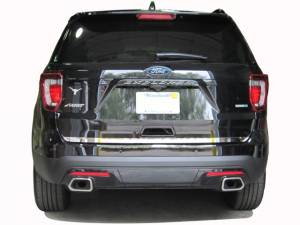 "Chrome Trim - Trunk Lid Accents - QAA - Ford Explorer 2016-2019, 4-door, SUV (1 piece Stainless Steel Rear Deck Trim, Trunk Lid Accent 1.25"" Width ) RD56330 QAA"
