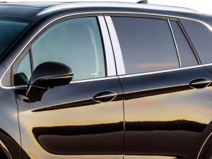 QAA - Buick Envision 2016-2020, 4-door, SUV (6 piece Stainless Steel Pillar Post Trim ) PP56581 QAA
