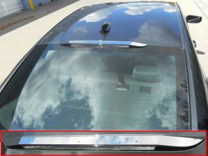 Chrome Trim - Brake Light Accents - QAA - Chevrolet Malibu 2016-2020, 4-door, Sedan (1 piece Stainless Steel Brake Light Trim ) BL56105 QAA