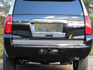 "Chrome Trim - More Trim Options - QAA - Chevrolet Tahoe 2015-2020, 4-door, SUV (1 piece Stainless Steel Tailgate Accent Trim 2.25"" Width ) RT55195 QAA"