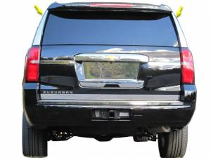 Chrome Trim - More Trim Options - QAA - Chevrolet Tahoe 2015-2020, 4-door, SUV (2 piece Stainless Steel Rear Window Trim ) RW55195 QAA