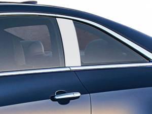QAA - Cadillac ATS 2015-2019, 2-door, Coupe (2 piece Stainless Steel Pillar Post Trim ) PP55265 QAA