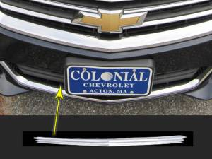 Chrome Trim - Grille Accents - QAA - Chevrolet Impala 2014-2020, 4-door, Sedan, Does NOT fit the Limited (1 piece Chrome Plated ABS plastic Grill Overlay Insert ) SGC54136 QAA