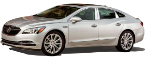 QAA - Buick LaCrosse 2017-2019, 4-door, Sedan (8 piece Chrome Plated ABS plastic Door Handle Cover Kit Includes four smart key access points and one driver key hole ) DH56145 QAA - Image 2