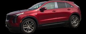 "QAA - Cadillac XT4 2019-2020, 4-door, SUV (4 piece Stainless Steel Body Side Molding Accent Trim 1.5"" Width ) AT59210 QAA - Image 2"