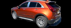 "QAA - Cadillac XT4 2019-2020, 4-door, SUV (4 piece Stainless Steel Body Side Molding Accent Trim 1.5"" Width ) AT59210 QAA - Image 3"