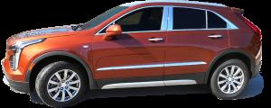 "QAA - Cadillac XT4 2019-2020, 4-door, SUV (4 piece Stainless Steel Body Side Molding Accent Trim 1.5"" Width ) AT59210 QAA - Image 4"