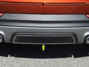 Chrome Trim - Bumper Accents - QAA - Cadillac XT4 2019-2020, 4-door, SUV (1 piece Stainless Steel Rear Bumper Trim Accent Installs onto lower bumper panel ) BI59210 QAA