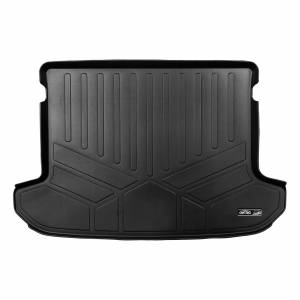 Maxliner USA - MAXLINER All Weather Cargo Trunk Liner Floor Mat Black for 2017-2020 Kia Sportage - Factory Cargo Tray in Upper Position