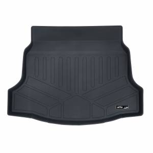 Maxliner USA - MAXLINER All Weather Cargo Liner Floor Mat Black for 2017-2019 Honda Civic Hatchback (No Sport or Sport Touring Models)