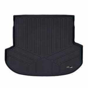 Maxliner USA - MAXLINER All Weather Custom Fit Cargo Liner Trunk Floor Mat Black for 2019 Hyundai Santa Fe 5 Passenger Models