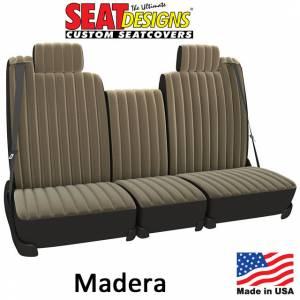 Seat Covers - Velour Seat Covers - DashDesigns - Madera Seat Covers