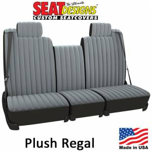 Seat Covers - Velour Seat Covers - DashDesigns - Plush Regal Seat Covers