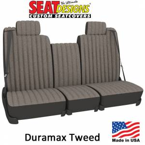 Seat Accessories - Seat Covers - DashDesigns - Duramax Tweed Seat Covers