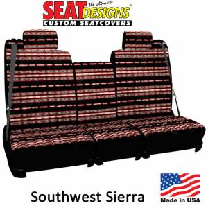 Seat Accessories - Seat Covers - DashDesigns - Southwest Sierra Seat Covers