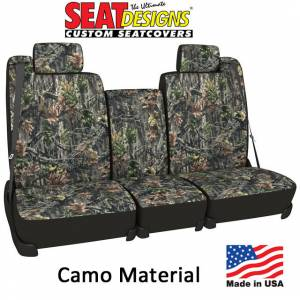 Seat Accessories - Seat Covers - DashDesigns - Camo Pattern Seat Covers by Seat Designs