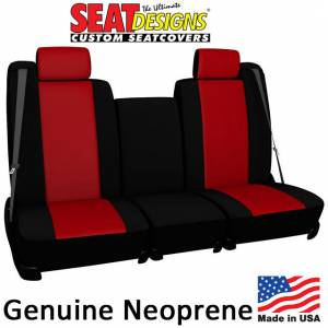 Seat Accessories - Seat Covers - DashDesigns - Genuine Neoprene Seat Covers