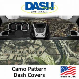 DashDesigns - Dash Designs Camo Dash Covers