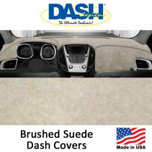 DashDesigns - Dash Designs Brushed Suede Dash Covers