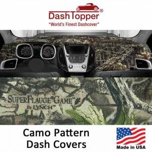 DashDesigns - Dash Toppers Camo Dash Covers