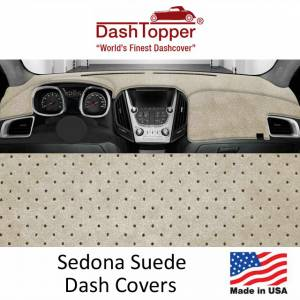DashDesigns - Dash Toppers Sedona Suede Dash Covers
