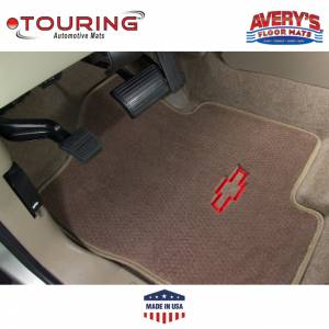 Avery Floor Mats - Touring Custom Fit Floor Mats - Avery's Floor Mats