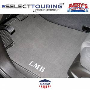 Avery Floor Mats - Select Touring Custom Fit Floor Mats - Avery's Floor Mats