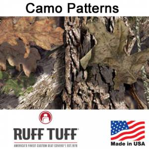 RuffTuff - Camo Pattern Seat Covers by RuffTuff
