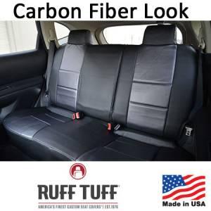 RuffTuff - Carbon Fiber Look Seat Covers - Image 2