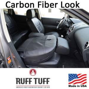 RuffTuff - Carbon Fiber Look Seat Covers - Image 3
