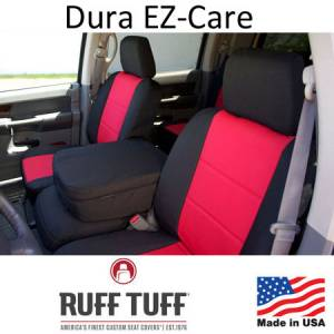 Seat Accessories - Seat Covers - RuffTuff - Dura EZ-Care Seat Covers