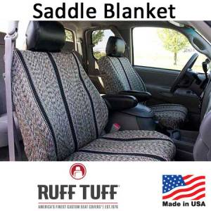 Seat Accessories - Seat Covers - RuffTuff - Saddle Blanket Seat Covers