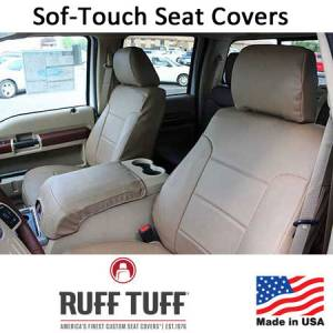 Seat Accessories - Seat Covers - RuffTuff - Sof-Touch Seat Covers