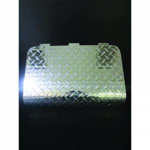 Style Enhancements - Chrome Enhancements - Club Car DS Diamond Plate Access Cover