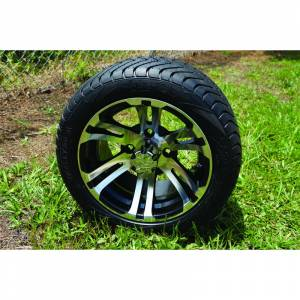 Wheels/Tires - Wheel Covers - 12 inch Wheels - 12 x 7.0 Bulldog Wheel and Tire Set LOW PROFILE