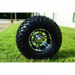 Wheels/Tires - Wheel Covers - 10 inch Wheels - 10 x 8 Bulldog Wheel and Tire Set