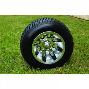 Wheels/Tires - Wheel Covers - 10 inch Wheels - 10 x 8.0 Revolver Wheel and Tire Set LOW PROFILE