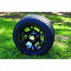"Wheels/Tires - Wheel Covers - 12 inch Wheels - 12"" x 7.0"" RALLY Wheel and Tire Set LOW PROFILE"