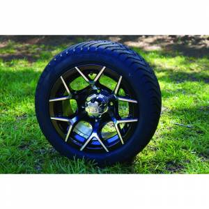 "Wheels/Tires - Wheel Covers - 12 inch Wheels - 12"" x 7.0"" EURO SPORT Wheel and Tire Set LOW PROFILE"
