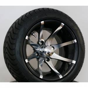 "Wheels/Tires - Wheel Covers - 12 inch Wheels - 12"" x 7.0"" Kraken Wheel and Tire Set LOW PROFILE"