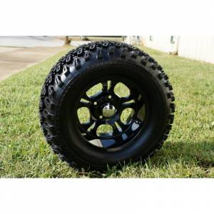 Wheels/Tires - Wheel Covers - 12 inch Wheels - 12 x 7.5 Dark Side Wheel and Tire Set