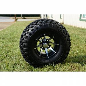 "Wheels/Tires - Wheel Covers - 10 inch Wheels - 10"" x 8"" Kraken Wheel and Tire Set"