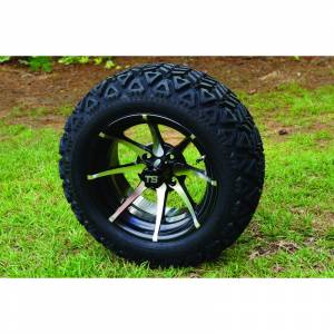 Wheels/Tires - Wheel Covers - 14 inch Wheels - 14 x 8 KRAKEN Wheel and Tire Set