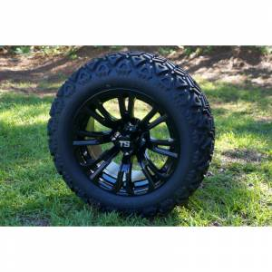 "Wheels/Tires - Wheel Covers - 14 inch Wheels - 14"" x 7"" VOODOO Wheel and Tire Set"