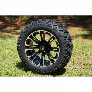 Wheels/Tires - Wheel Covers - 14 inch Wheels - 14 x 7 VECTOR Wheel and Tire Set
