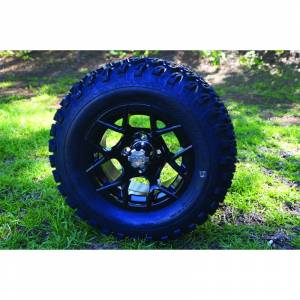 "Wheels/Tires - Wheel Covers - 12 inch Wheels - 12"" x 7.5"" RALLY Wheel and Tire Set"